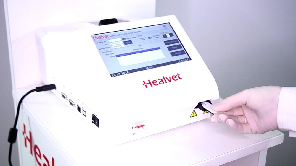 ветеринарный количественный иммунофлюоресцентный анализатор Healvet