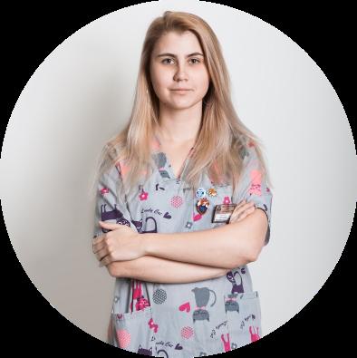 Беспалова Маргарита Сергеевна - асистент вет врача